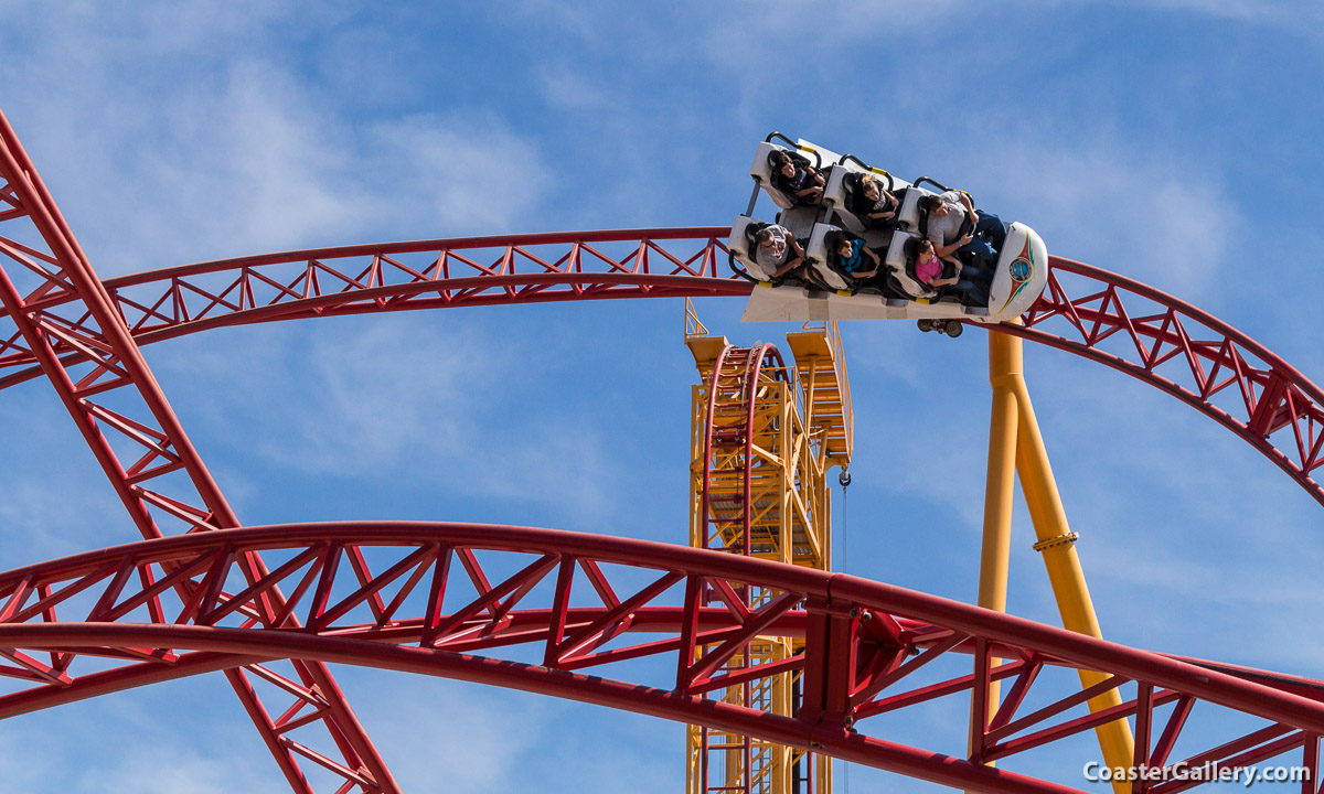 Dare Devil Dive at Six Flags Over Georgia