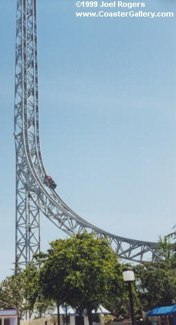 The lost Superman roller coaster picture