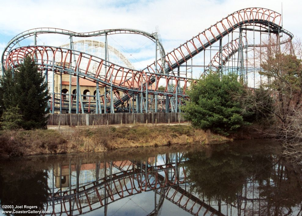 new roller coaster at six flags new england 2011. 1 Six Flags