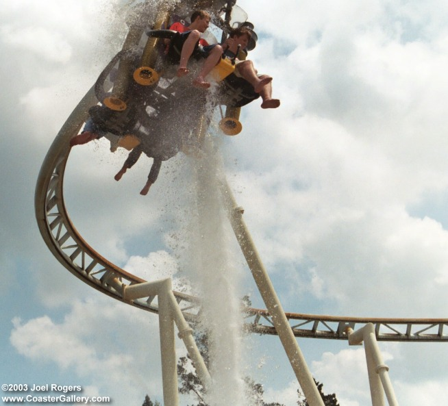 Roller Coaster Lever : Water rides