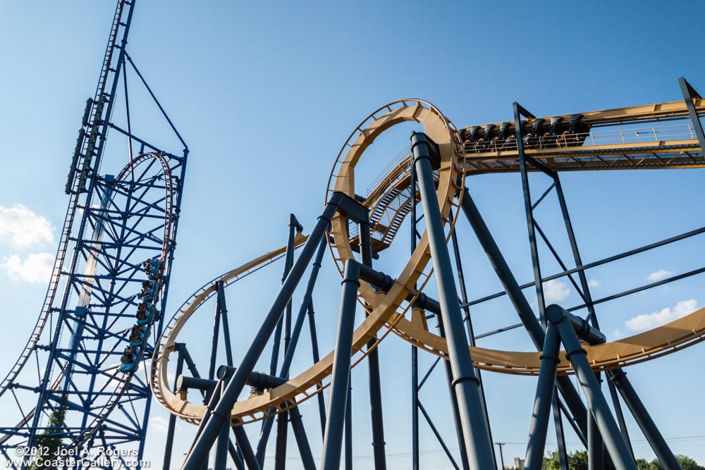 Roller coasters in Dallas
