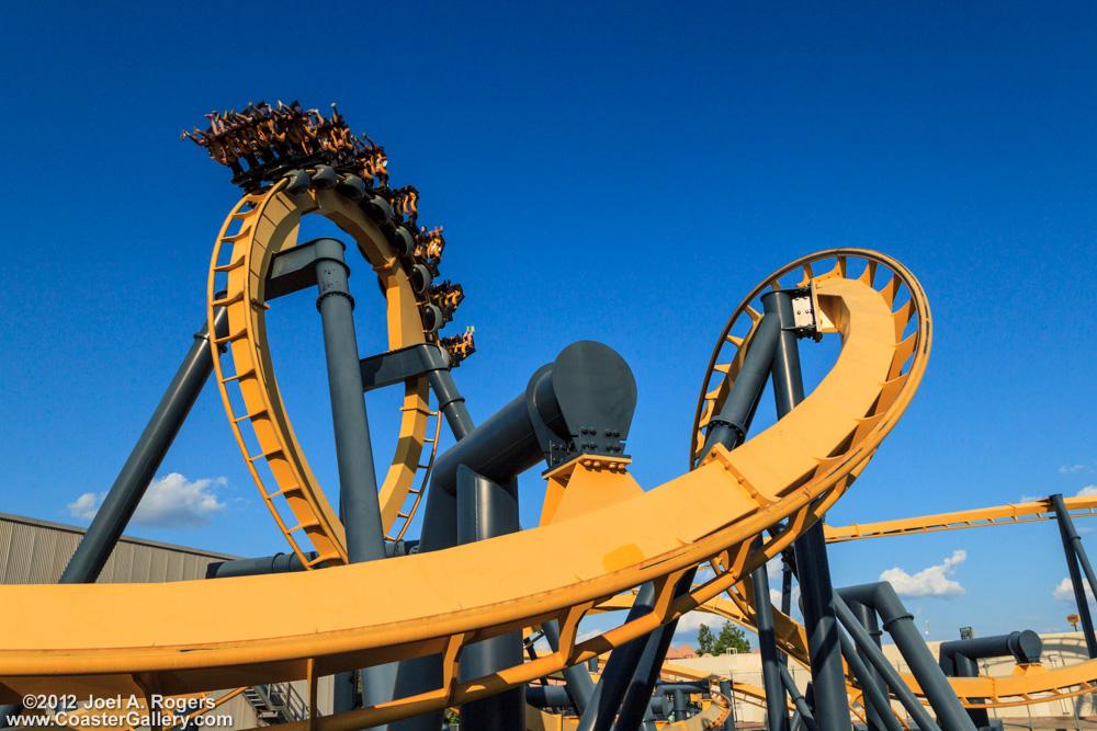 Batman roller coasters