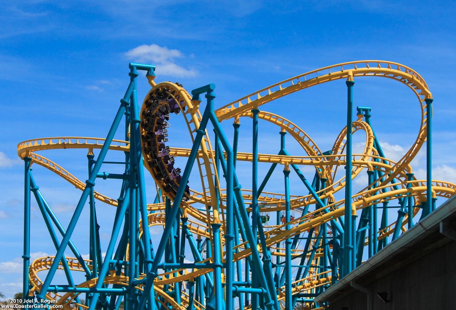 Six Flags Fiesta Texas roller coaster