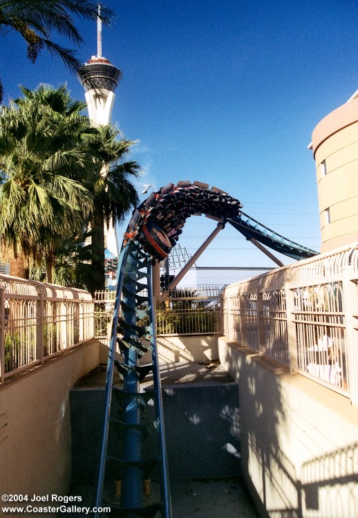 Speed of Fear Rollercoaster