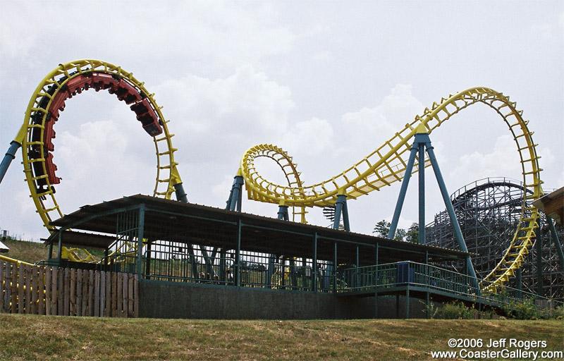 Vekoma Boomerang coaster in Alabama