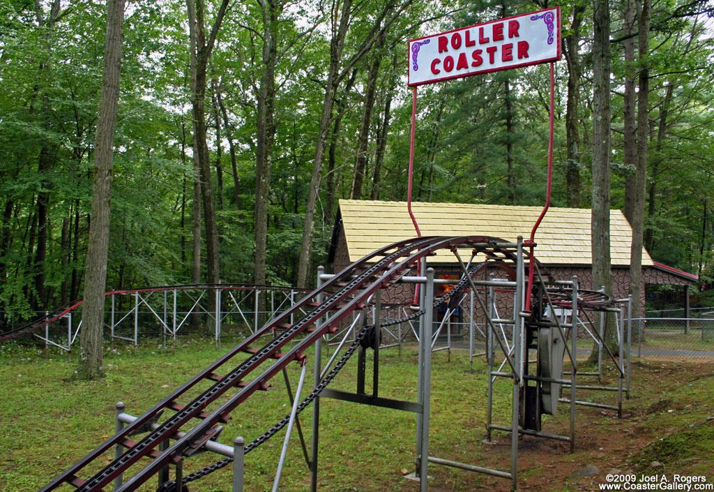 Kiddie coaster in lake george ny