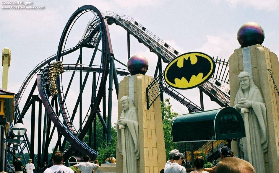 2015 batman roller coaster