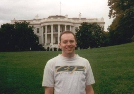 Joel Rogers at the White House