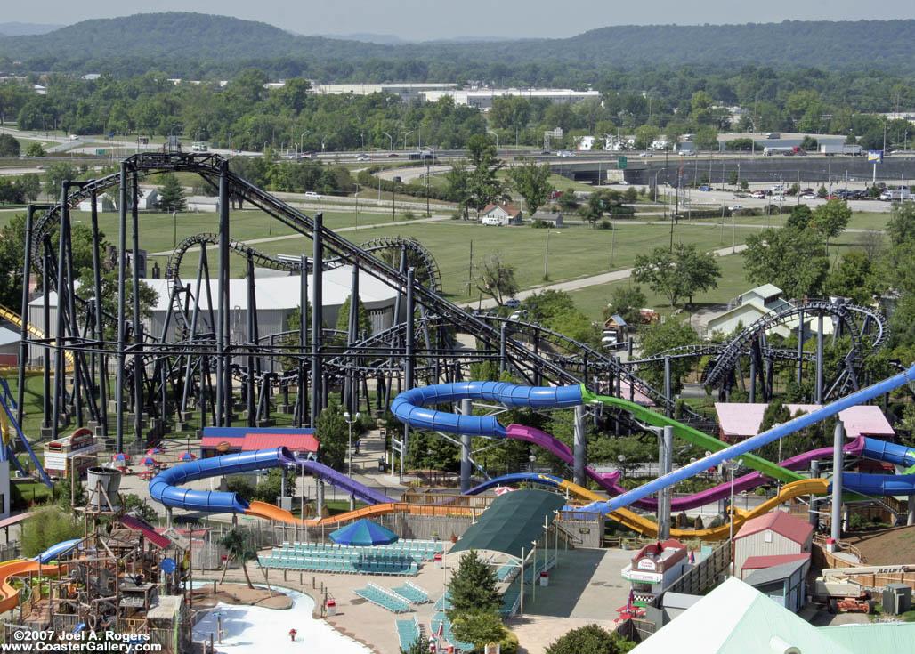 Six Flags Kentucky Kingdom Roller Coasters Six Flags Kentucky Kingdom